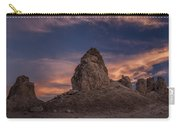 Trona Pinnacles Sunset Carry-all Pouch