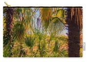 Tropical Forest Palm Trees In Sunlight Carry-all Pouch