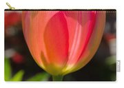 Tulip On The Green Background Carry-all Pouch