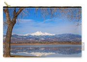 Twin Peaks Longs And Meeker Lake Reflection Carry-all Pouch