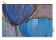 Two Blue Poppies Carry-all Pouch