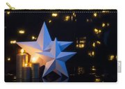 Two Stars With Gold Candles Carry-all Pouch