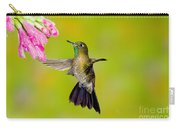 Tyrian Metaltail Hummingbird Carry-all Pouch