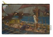Ulysses And The Sirens Carry-all Pouch