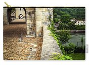 Valentre Bridge In Cahors France Carry-all Pouch