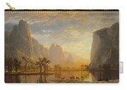 Valley Of The Yosemite Carry-all Pouch