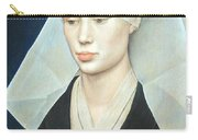 Van Der Weyden's Portrait Of A Lady Carry-all Pouch