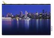 Vancouver Skyline At Night, British Carry-all Pouch
