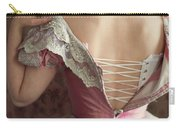 Victorian Woman Undressing Carry-all Pouch