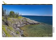 View Of Rock Harbor And Lake Superior Isle Royale National Park Carry-all Pouch