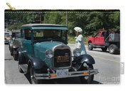 Vintage Cars Carry-all Pouch