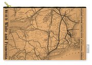 Vintage Train Ad 1887 Carry-all Pouch