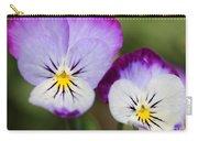 Viola Named Sorbet Lemon Blueberry Swirl Carry-all Pouch