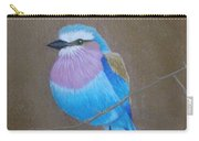 Violet-breasted Roller Bird Carry-all Pouch
