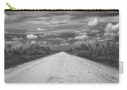 Wagon Wheel Road Bw Carry-all Pouch