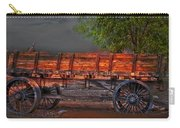 Wagons East Carry-all Pouch by Gunter Nezhoda