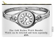 Watch Bracelet, 1891 Carry-all Pouch