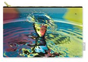 Water Splash Having A Bad Hair Day Carry-all Pouch