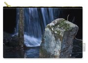 Waterfall At The Ruins Carry-all Pouch