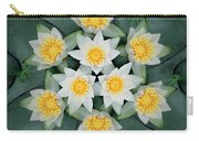 Waterlily Mandala Carry-all Pouch