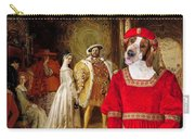 Welsh Springer Spaniel Art Canvas Print  Carry-all Pouch
