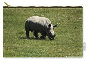 White Rhinoceros Calf  Carry-all Pouch