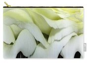White Rose Polar Coordinates Carry-all Pouch