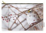 White-throated Sparrow Carry-all Pouch