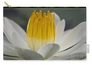 White Water Lily Carry-all Pouch by Heiko Koehrer-Wagner