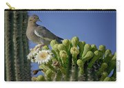 White-winged Dove Atop A Saguaro Carry-all Pouch