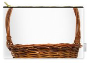 Wicker Basket Number Twelve Carry-all Pouch