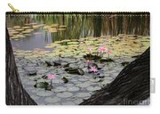 Wild Water Lilies In The River Carry-all Pouch
