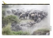 Wildebeest Migration 1 Carry-all Pouch