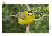 Wilsons Warbler Carry-all Pouch