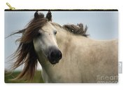 Wind In The Mane Carry-all Pouch