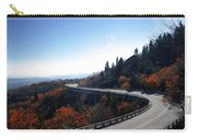 Winding Curve At Blue Ridge Parkway Carry-all Pouch