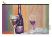 Wine And Blue Cheese Carry-all Pouch