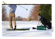 Winter Golf Carry-all Pouch