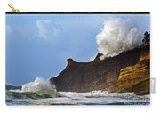 Winter Storm At Cape Kiwanda - Oregon Carry-all Pouch