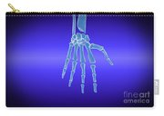 X-ray View Of Human Hand Carry-all Pouch