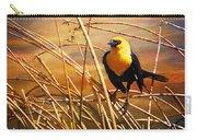 Yellow - Headed Blackbird Carry-all Pouch