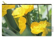 Yellow Iceland Poppy Carry-all Pouch