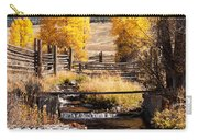Yellowstone Institute In Lamar Valley In Yellowstone National Park Carry-all Pouch