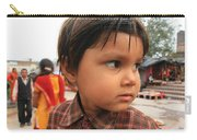 Young Boy Orchha  Carry-all Pouch