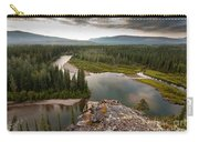 Yukon Canada Taiga Wilderness And Mcquesten River Carry-all Pouch