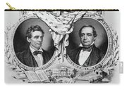 Presidential Campaign, 1860 Carry-all Pouch