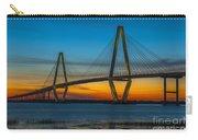 Arthur Ravenel Jr. Bridge At Sunset Carry-all Pouch