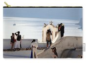 The Shoot On Santorini In Greece Carry-all Pouch