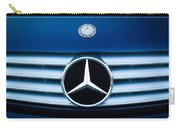 2003 Cl Mercedes Hood Ornament And Emblem Carry-all Pouch