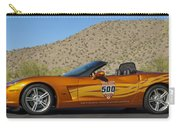 2007 Chevrolet Corvette Indy Pace Car Carry-all Pouch by Jill Reger